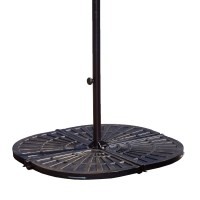 Island Umbrella 4 - 30-lb Resin Umbrella Base Weights in ...