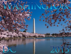 Zazzle calendar of Washington DC