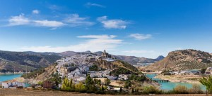 Panorama of Iznajar