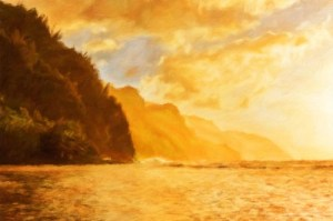 Use of Impresso Pro plugin in Photoshop to create realistic oil painting effects