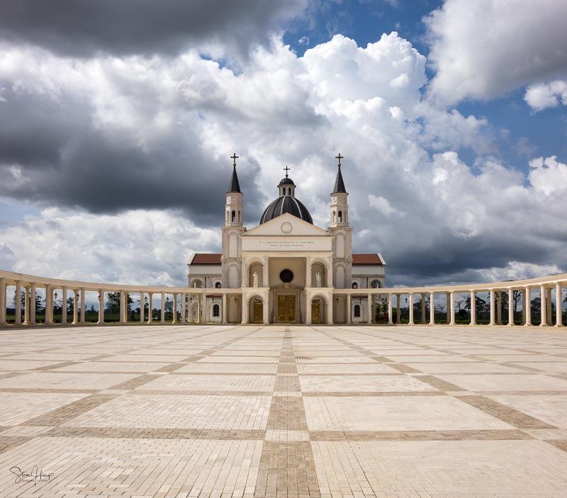 Basilica of Mongomo in Equatorial Guinea