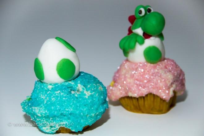 Yoshi's New Island Cupcakes; Yoshi im Ei