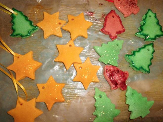 Weihnachtsdekor von Basteln und Backen mit Sybi