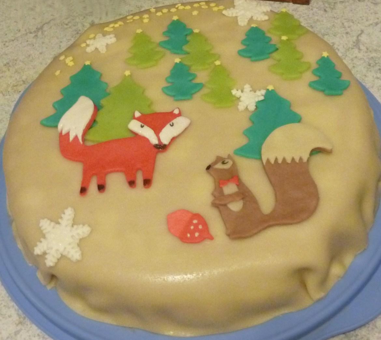 Marzipan-Erdbeer-Mascarpone-Torte