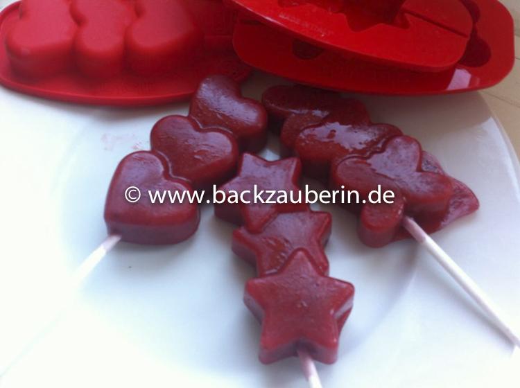 Erdbeer-Nektarine-Smoothies-Eis