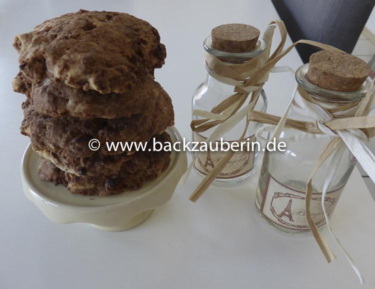 Marzipan-Schoko-Cookies