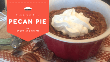 sugar free low-carb chocolate pecan pie recipe