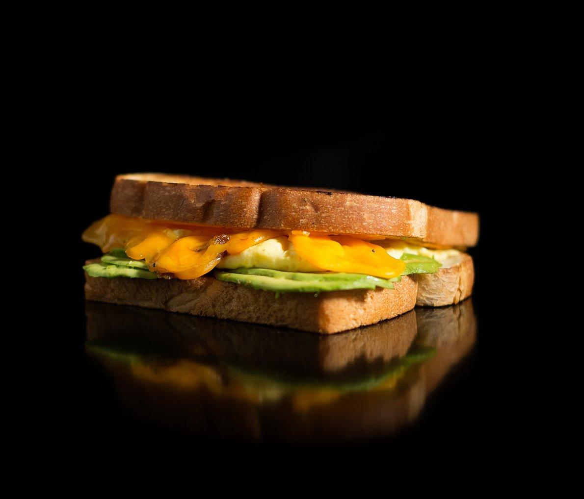 The Avocado Egg 'n' Cheese