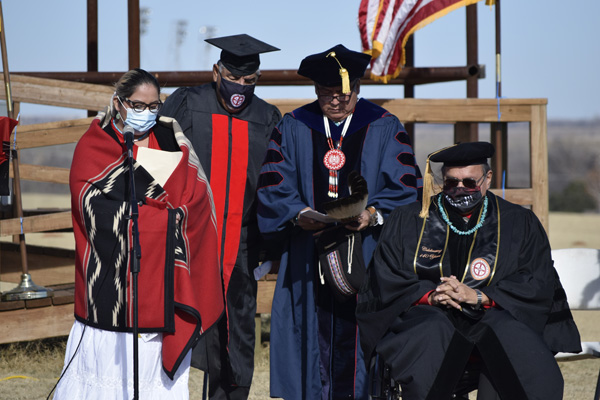 """Dr. Phil """"Joe Fish"""" Dupoint honored at outdoor ceremony Saturday"""