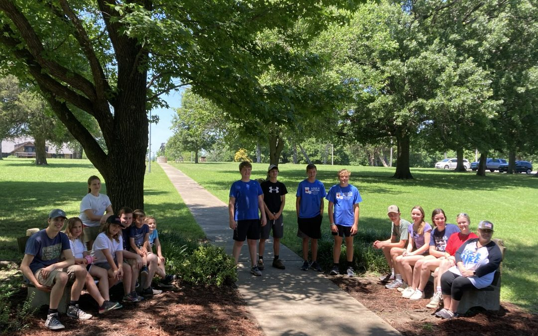 NSCAR volunteers stop at Bacone College on regional tour