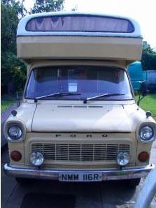 Transit Ci Mk1 coachbuilt motorhome