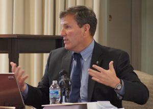 Transportation Secretary Sean Connaughton, a former chairman of the Prince William County board, is a key driver behind the North-South Corridor.