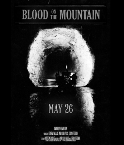 blood on the moutain poster