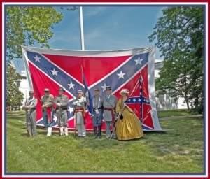 confederate flag day