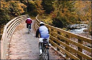 ... or a recreational amenity like the beautiful Virginia Creeper Trail?