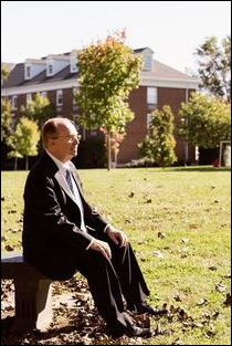 Lynchburg College President Garren. Photo credit: Wall Street Journal