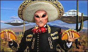 Illegal aliens? We don't have no stinkin' illegal aliens.