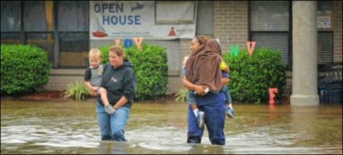 Routine flooding -- not just for Mississippi River towns anymore.