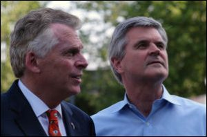 Governor Terry McAuliffe (left) and Steve Case