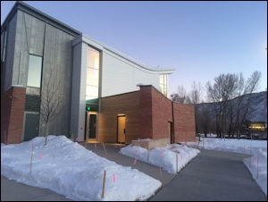 Exterior shot of the Innovation Center. Photo credit:Rocky Mountain Institute