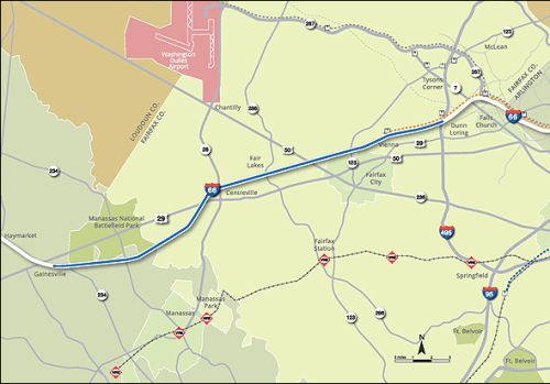 The I-66 public-private partnership will save Virginia $2.5 billion