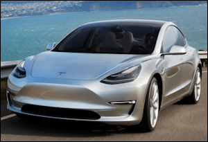 Tesla's Model3 is expected to be the electric car company's first mass-market vehicle.