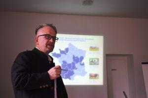 Dirk Bussmann erklärt Chateau Boeuf