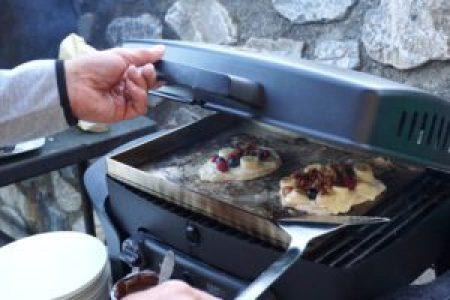Rezept Süße Flammkuchen vom Grill
