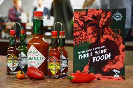 "Tabasco ""Thrill Your Food""-Event in Hamburg"