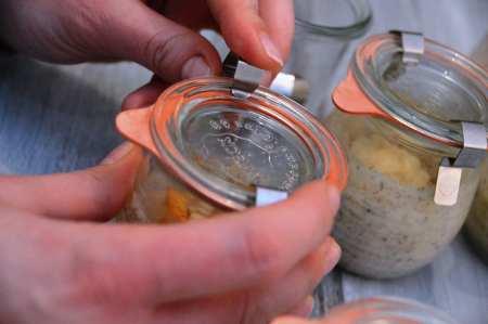 Eingekochter Kuchen - Kuchen aus dem Glas
