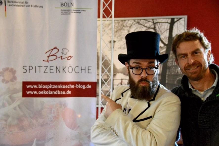 Warum bio? Ökolandbau im Fokus - Hendrik Haase und Elmar Seck (BLE).