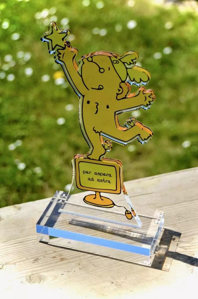 Goldener Blogger - Auszeichnung für Foodblog baconzumsteak.de