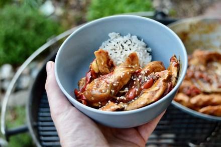 Rezept für feuriges Sichuan Chicken