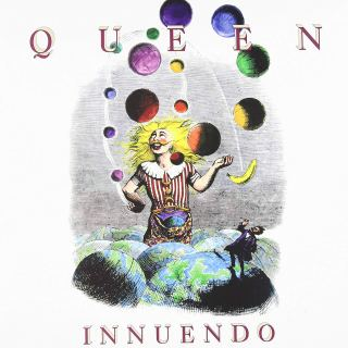 Queen innuendo album cover