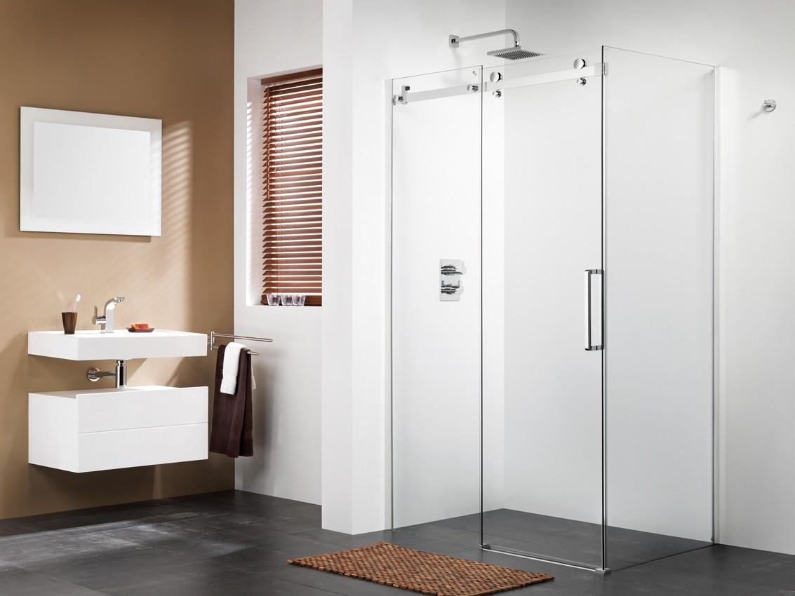 Dusche Schiebetr 120x90 Seitenwand Duschabtrennung Dusche