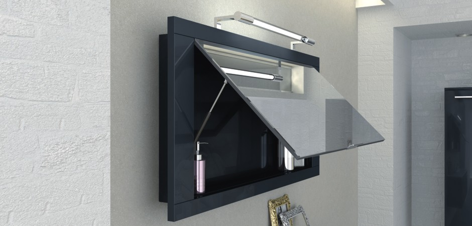 Spiegelschrank Badezimmer 120 Cm
