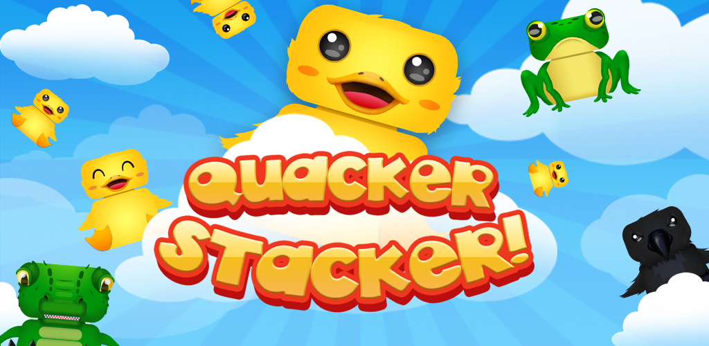 Quacker Stacker, a tower stacking game for Android and iOS