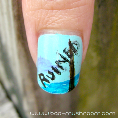 Bob Ross on Twitch Creative nail art