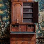 A George Ii Oak Bureau Bookcase Bada