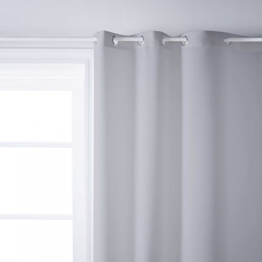 rideau isolant gris clair rideau