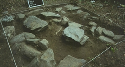 A view of the supposed excavation