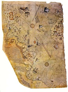 The controversial Piri Re's map