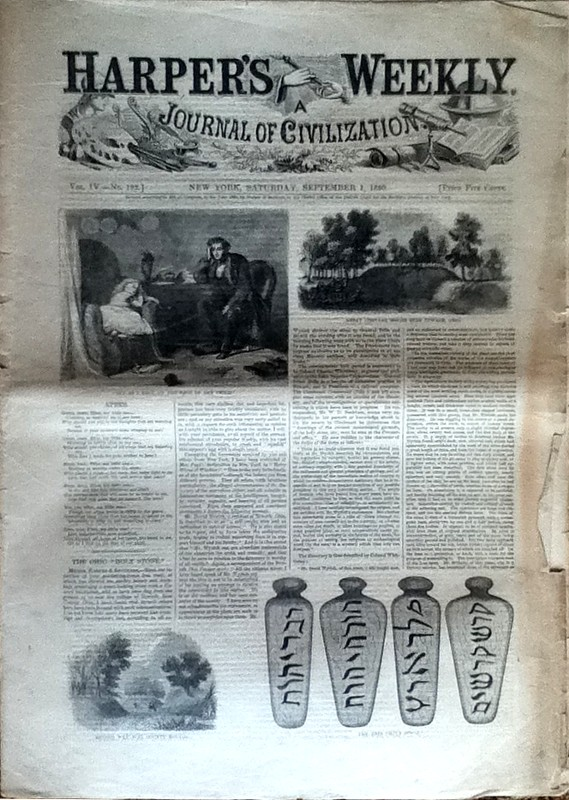 Harper's Weekly, 1 September 1860