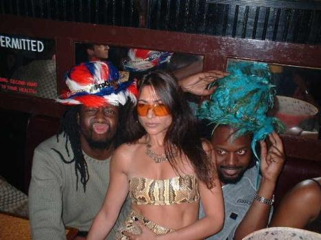 Ivy Supersonic with Wyclef and Sadek Jean. Photo Sean Flannery