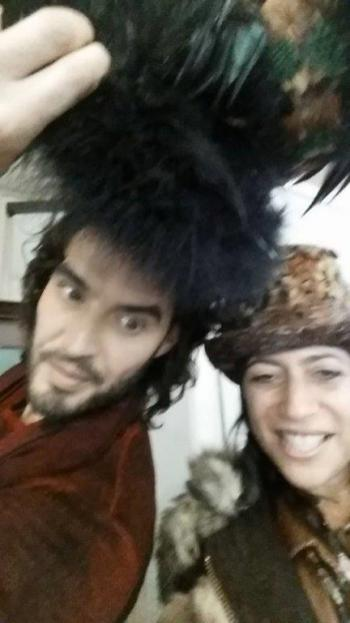 Russell Brand and Ivy Supersonic