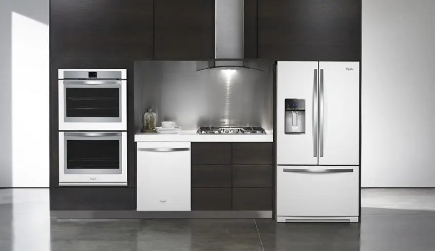 white appliances kitchen cabinets ideas lastman s bad boy