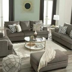 Sofa Set For Living Room Design Decor With Hardwood Floors Signature By Ashley 77205 Dark Grey Lastman S Bad Boy