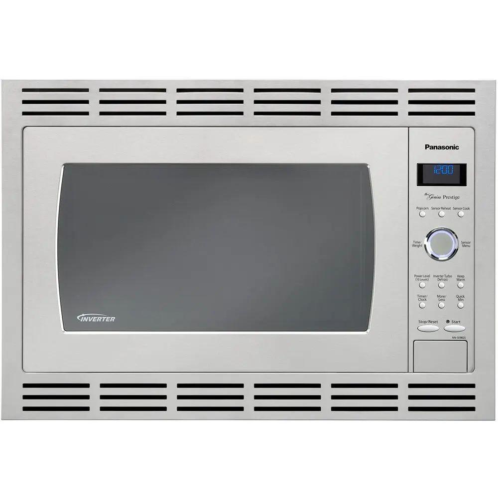 panasonic 27 inch microwave trim kit in stainless steel nntk722s