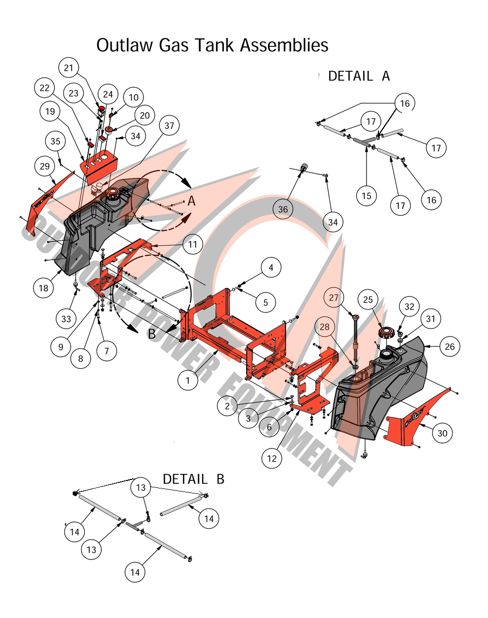 Deck Wire Harness Kawasaki Diagram And Parts List Partstreecom