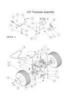 Bad Boy Mower Parts Diagrams for 2015 CZT Elite